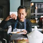 Owner/ chef Nancy Silverton in the trenches every step of the way