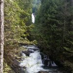 Wallace Falls, lower view