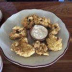 fried oyster starter