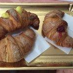 Fresh croissants (brioche)