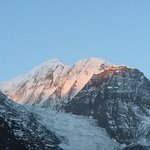Gangapurna Peak & its Glaciar