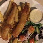Barramundi and chips
