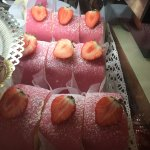 the cake display is amazing!