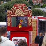 Punch & Judy on Llandudno Promenade