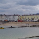 Llandudno Promenade view from the pier