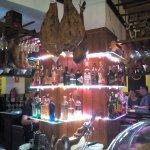 Behind the bar at Redondo's