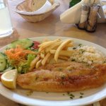 Beautiful fish dish