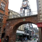 Chester town centre - Eastgate