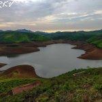Emerald dam reservoir