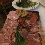 Sharing Platter (starter) Italian Meats - perfect!