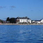 The hotel viewed from Ballycotton bay