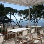 terrace at breakfast