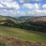 Walking on the hill just 10 mns from Hafod y Garreg