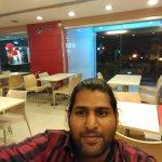 Me Inside the Restaurant
