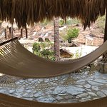 Hammocks available by the waterfalls