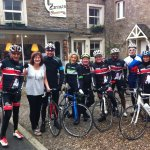 Top sportsmen visit Zarina's