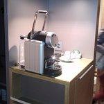 in-room coffe maker