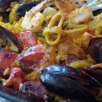 The best Paella Valenciana!!!!