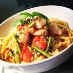 One of our many delicious pasta dishes!