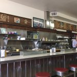 Authentic classic diner. Eggs, pancakes, ham, hash browns and coffee were delicious. Owners were