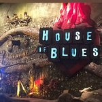 house of blues located in mandalay bay . went with my parents 5.13.17
