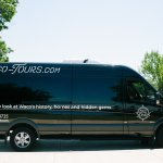 This is one of our two Mercedes sprinter vehicles.