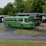 The Amberley Museum 'bus will transport you round the site.