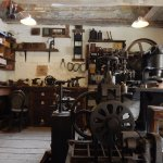 One of the workshop displays at Amberley Museum.