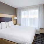 One-Bedroom King Suite - Sleeping Area