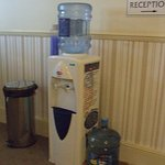 at least one water dispenser on each floor