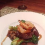 Beef 3 ways - essentially a very nice surf and turf