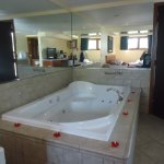 very large jacuzzi tub :)