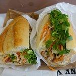 Bahn Mi Ga Nuong' – a grilled spicy chicken sandwich