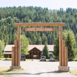 View as you come thru the Main Gate at Moose Creek Ranch