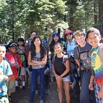 Local youth at Camp Explore. Thanks for supporting our kids, Intimate Wine Tours!