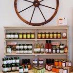 Local jams & chutneys available in the Farmshop