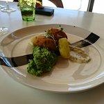 Fish Cakes and Mushy Peas