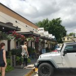 Grapevine Historic Main Street District Foto