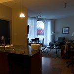 View upon entering thru the door of Suite 114A.