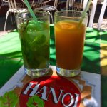 Mojitos and Mango juice