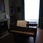 Piano, Collard & Collard c. 1850. Owned by Holst. It has 2 instead of the normal 3 strings per n