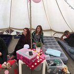Party tent!