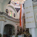 Inside of The Church of Our Lady of Guadalupe