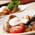The Raven traditional full English breakfast - £7.80