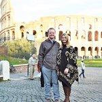 Roman Colosseum on Christmas Eve