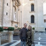 Vatican City on Christmas Eve