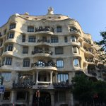One of Gaudi's buildings.