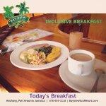 an Inclusive Jamaica Breakfast