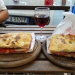 2  huge, delicious sandwiches, a glass of house wine and 2 sodas for 15 euros.