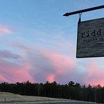 Cape Cod sun sets over Riddle